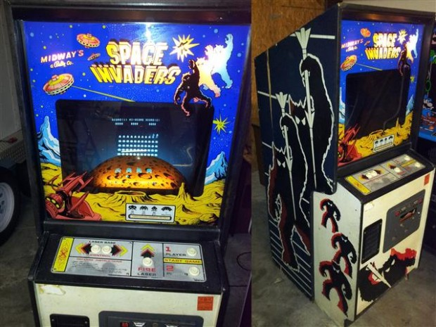 original space invaders machine