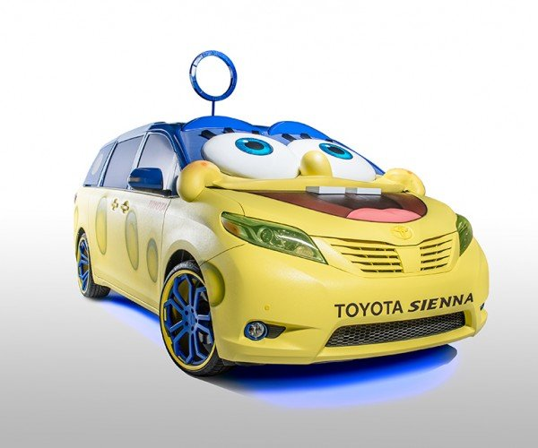 SpongeBob Squarepants Toyota Sienna: Well Maybe It Is Stupid, but It's Also Dumb!
