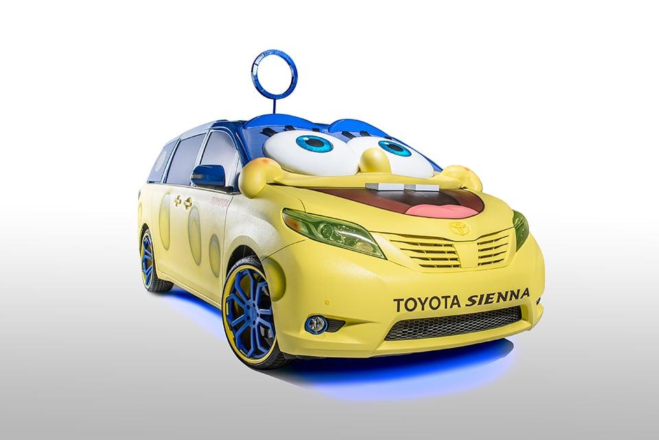 Spongebob Car Covers