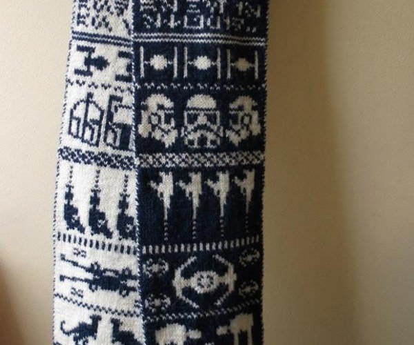 Make Your Own Star Wars Scarf