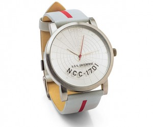 This NCC-1701 Watch Doesn't Look Geeky Unless Closely Examined