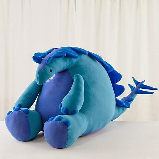 Giant Stuffed Dinosaur Jurassic Plush Technabob
