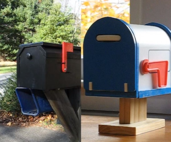 Toy Mailbox Alerts if There's Mail in Actual Mailbox: Quantum Mailchanics