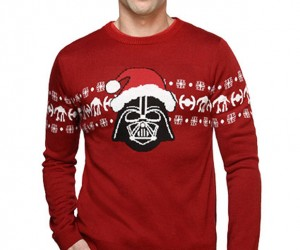 Santa Vader Sweater is Disturbed by Your Lack of Warmth