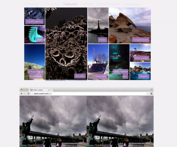 Vcemo Wants to Be the YouTube of 360º Videos