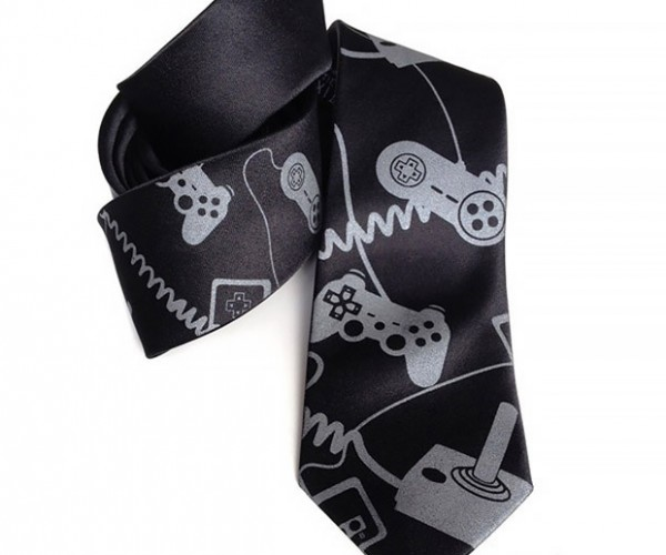 Video Game Controller Tie: Business Casual Gaming