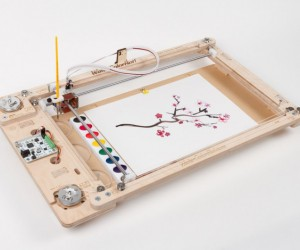 WaterColorBot 2.0: Robo-painter