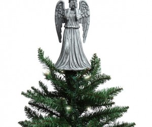Weeping Angel Tree Topper: Because Christmas Needs to Be Abjectly Terrifying