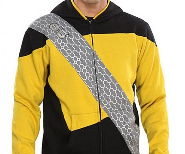 Star Trek Worf Hoodie Keeps You Warm and Hostile