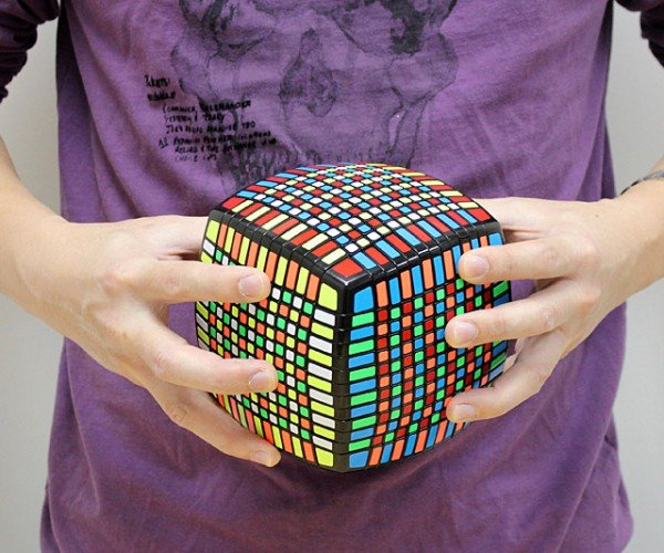 13x13x13 Puzzle Cube Will Tire out Your Brain and Hands