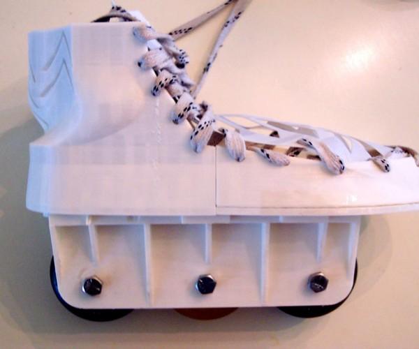 3D Printed Rollerblades: PLAirborne