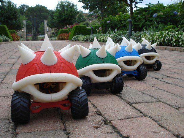 3d_printed_mario_kart_turtle_shell_racers_by_michael_curry_2