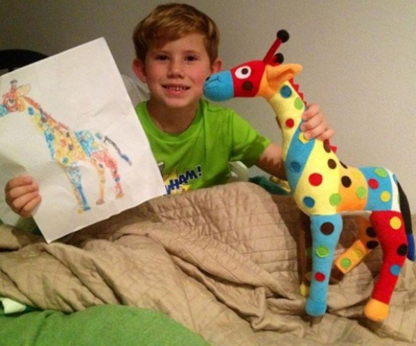 Budsies Turns Drawings into Plush Toys