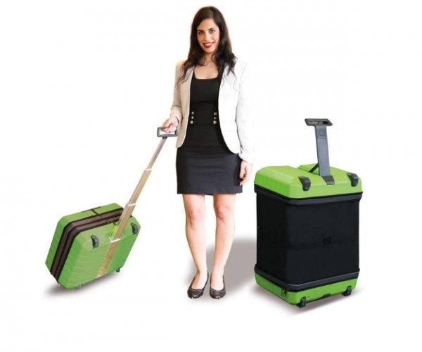 Fugu Luggage Expands to Fit All Your Stuff