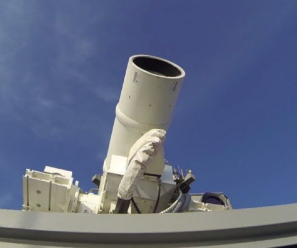 The US Navy Just Deployed a Laser Cannon, Has Awful Taste in Music