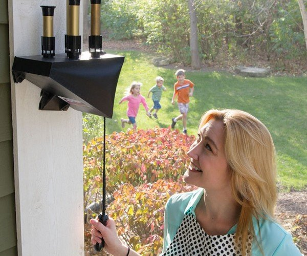 Toot Goes the Doorbell: Pneumatic Train Whistle for the Porch