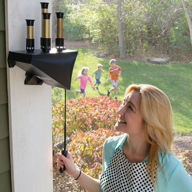 Pneumatic Train Whistle for the Porch