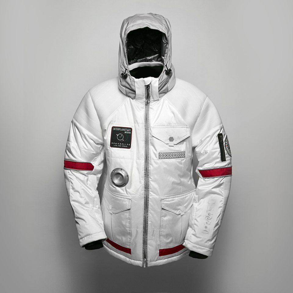 Coat Men Fashion Street Backpack