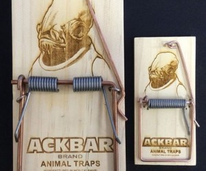 Admiral Ackbar Mouse Trap: IT'S A TRAP!!