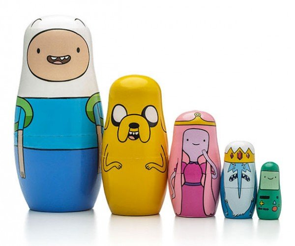 Adventure Time Nesting Dolls: Mathematical Matryoshka