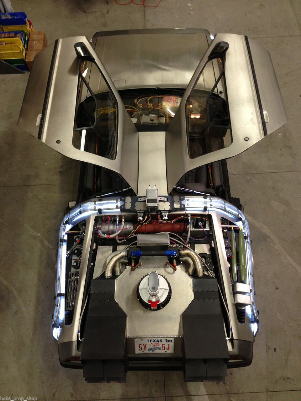 Delorean Time Machine Conversion Mod Back To The Back To