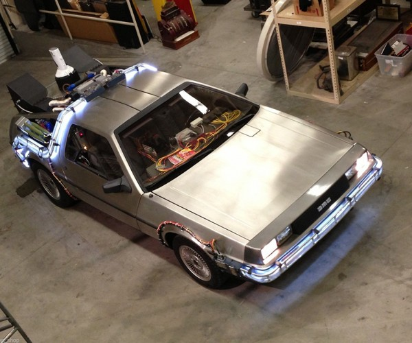 DeLorean Time Machine Conversion Mod: Back to the Back to the Future