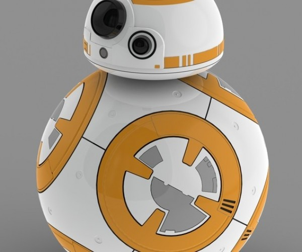 3D Printed BB-8 Roll Your Own Droid!