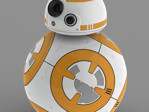 3D Printed BB-8 Roll Your Own Droid! - Technabob
