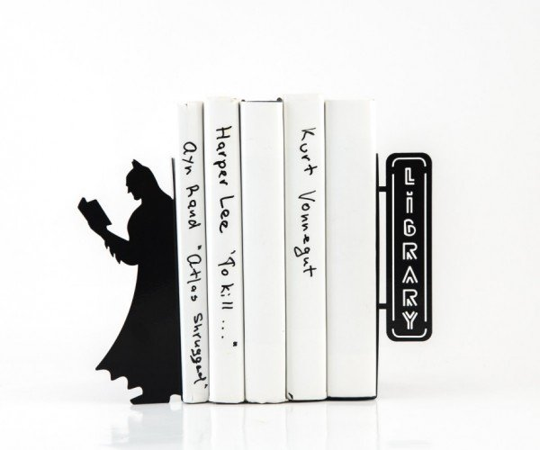 Batman Bookends: Library of Comics