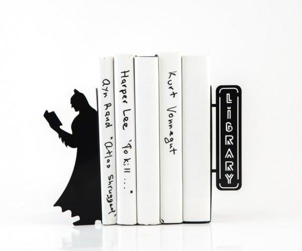 Batman Bookends: Library of Comics