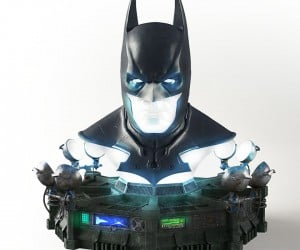 Batman Cowl Replica Doubles as Coolest Lamp Ever