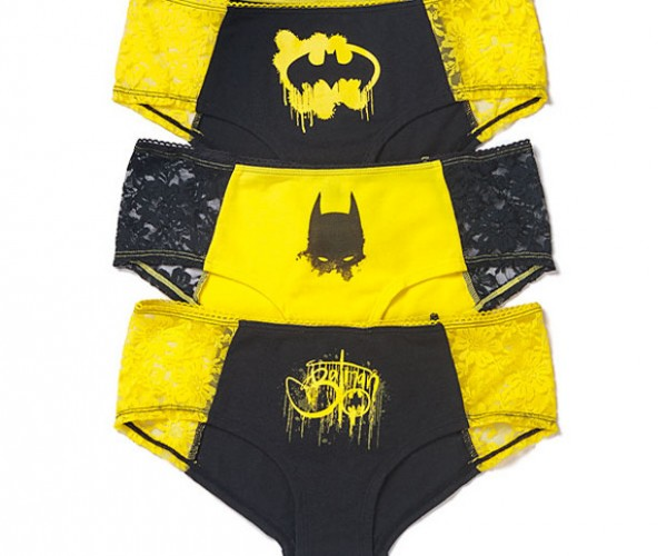 Batman Panties: The Underwear Gotham Deserves