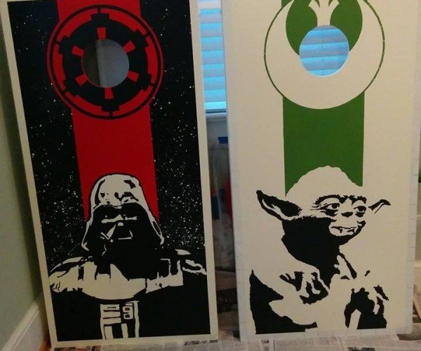 Custom Star Wars Bean Bag Boards: Stay on Target!