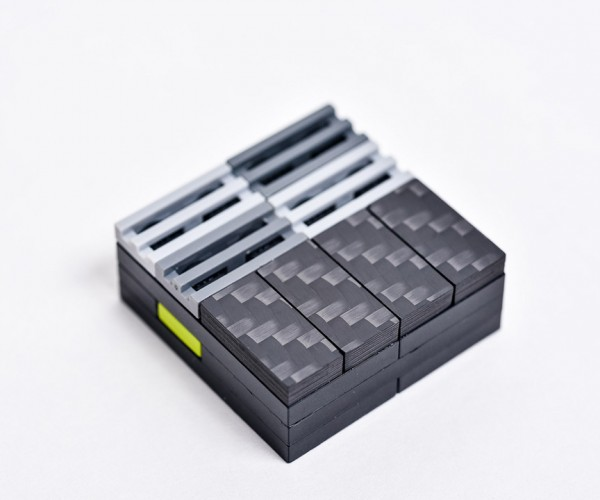 Carbon Fiber LEGO Tiles: Aftermarket Mod