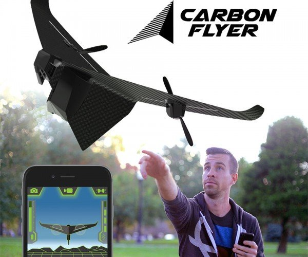 Carbon Flyer Video Drone is Cool and Cheap