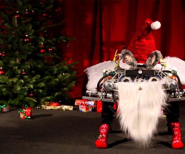 Robots Dress up and Dance for Christmas
