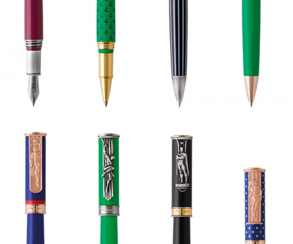 Montegrappa's DC Comics Pens Still Have That Montegrappa Price