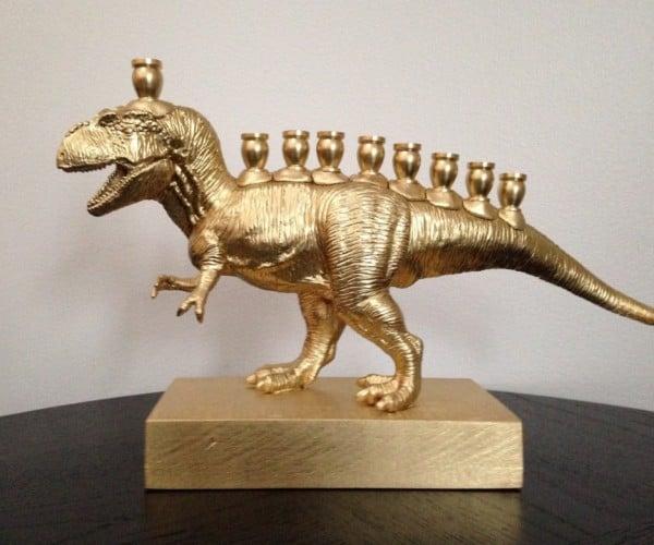 Jurassic Hannukah: MenorasaurusRex