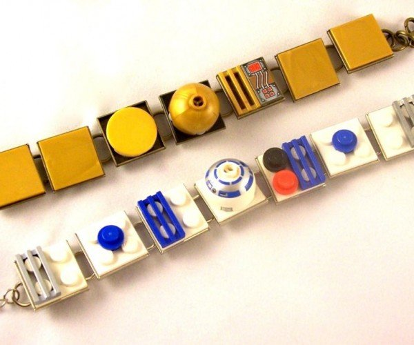 LEGO R2-D2 and C-3PO Bracelets: The Blocks You're Looking for