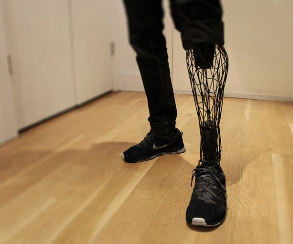 Exo 3D Printed Titanium Leg Concept: The Six Hundred Dollar Man