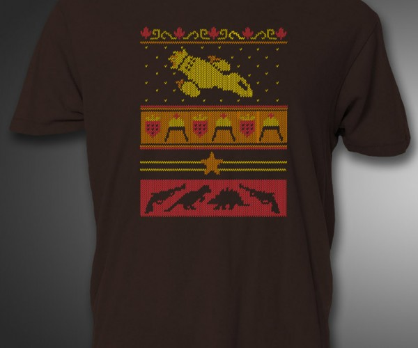 """Firefly Ugly """"Sweater"""" T-Shirt Goes Good with Jayne's Hat"""