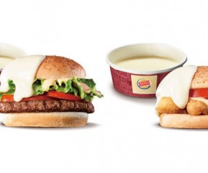 Burger King Japan Unveils Burgers with Cheese on the Outside