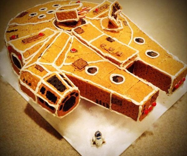 The Gingerbread Millenium Falcon Has Got It Where It Counts