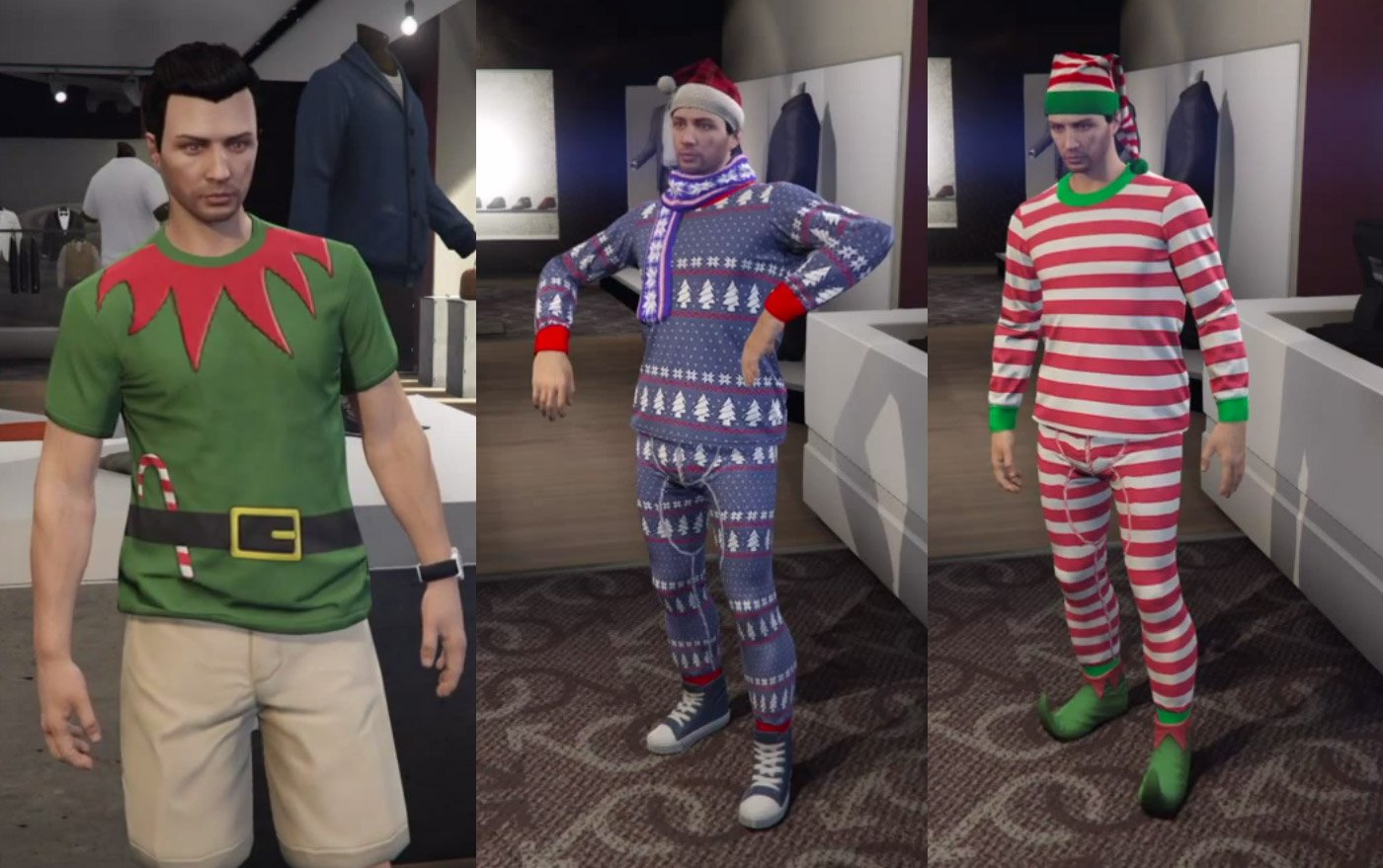 GTA V Holiday Update Adds Cars, Weapons, and Christmas Outfits and ...