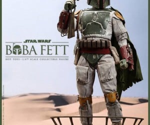 1/4-Scale Boba Fett Action Figure: Sarlacc Sold Seperately
