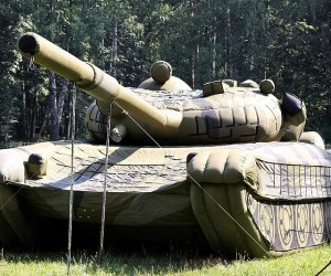 Giant Inflatable Tank: Air Force