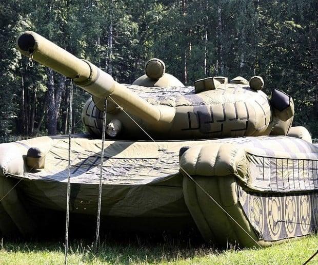 inflatible tank