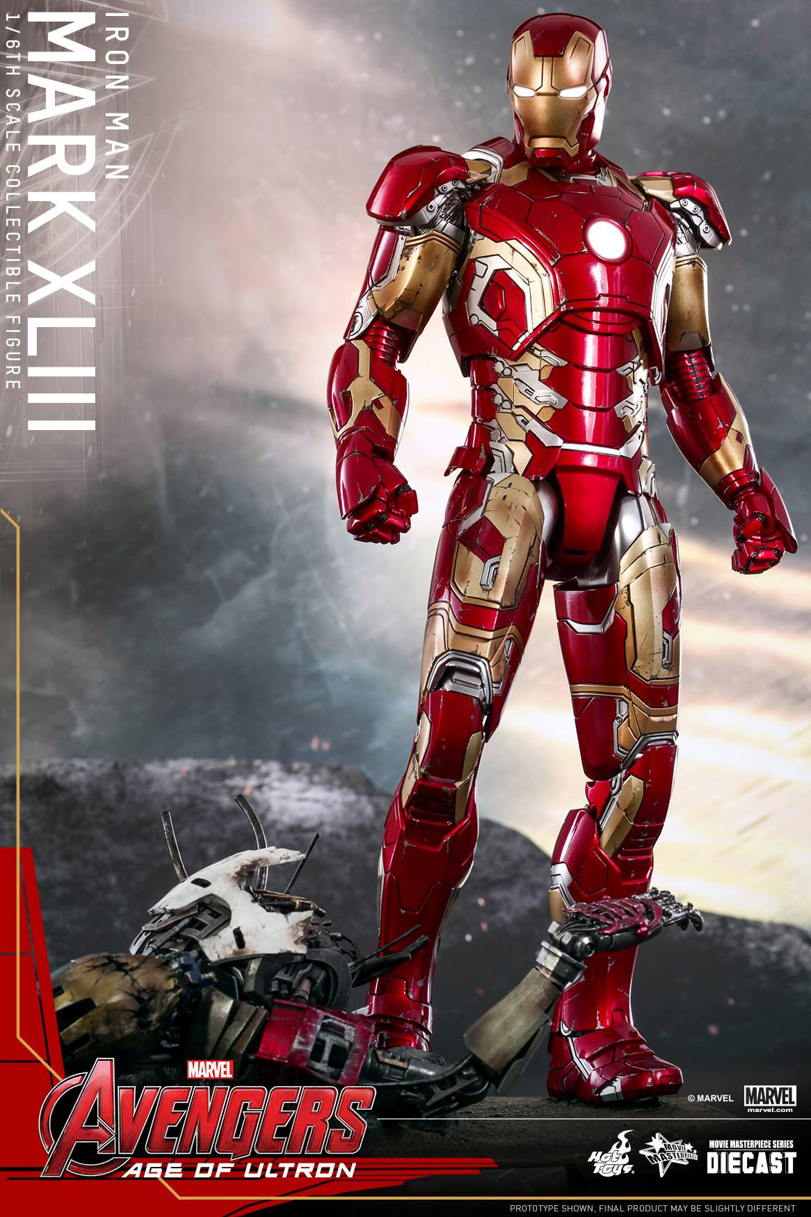 Hot Toys Age of Ultron Iron Man Collectable is Made of ...
