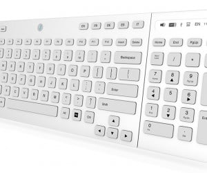 Jaasta E-ink Keyboard Black and White and Everything in Between