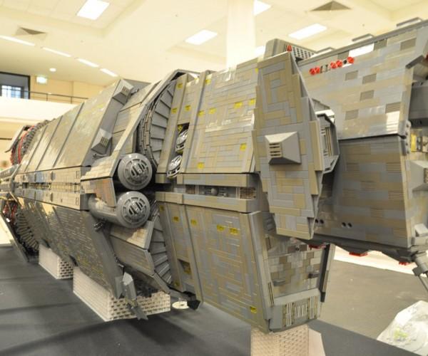 LEGO Halo Pillar of Autumn Model is 7-feet Long